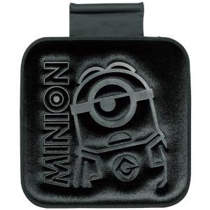 [MINIONS]ズレ防止ストッパー付シングルクッション 『ミニオンプレス』 (約45×45cm)ブラック|bonsan