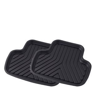 大垣産業[ボンフォーム] 3D立体フロアマットトレイ【3Dプライム】バケットマット 後席用  サイズ...