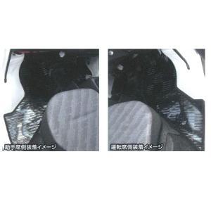 軽トラック 車種別専用カーマット「ライトガード」 [DA63T]スズキキャリイ/マツダスクラム兼用 2枚セット スモーク|bonsan