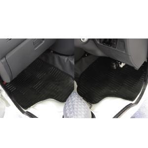 軽トラック 車種別専用カーマット「ライトガード」 [S200/S210/S201/S211P]ダイハツハイゼット 2枚セット スモーク|bonsan