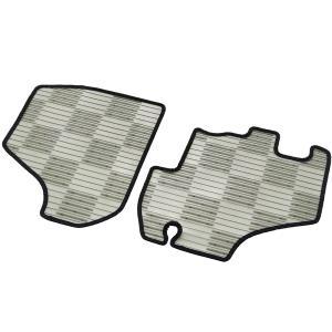 軽トラック 車種別専用カーマット「ライトガード」 [S500P/S510P]ダイハツハイゼット 2枚セット スモーク|bonsan