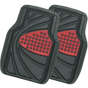 [ボンフォーム]3D立体タイプフロアマットトレイ【デザインラバーマット】前席(運転席・助手席兼用)用...