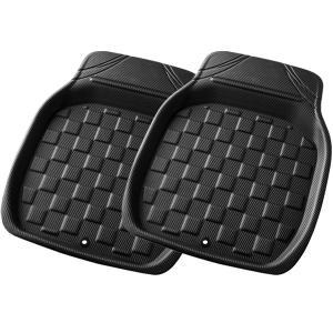 [ボンフォーム]3D立体フロアマットトレイ【3Dカーボンマット】バケットマット 前席(運転席・助手席...