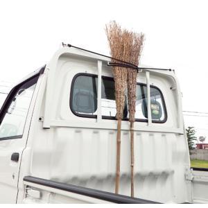 軽トラック用 鳥居用フックロープ(黒/ブラック)200cm(1本)|bonsan
