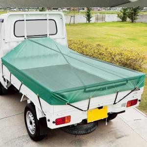 軽トラック用 幌の水溜まり防止!荷台スロープベルト(黒/ブラック)|bonsan