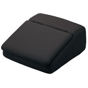 大垣産業[ボンフォーム]メッシュ生地・低反発ウレタン仕様フットレストボックス! シューズボックスとしてもお使い頂けます! 約15×32×34cm ブラック/黒|bonsan