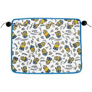 [MINIONS]日よけカーテン 1枚入り サイズ:約65×50cm[ミニオンパターン] ホワイト|bonsan