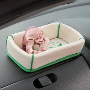 大垣産業[BONFORM]スヌーピーラブ[SNOOPY Love]置くだけ簡単!ダッシュトレイ アイボリー|bonsan