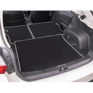 [ボンフォーム]ラゲッジスペースの必需品/ウェットスーツ素材で防水![GP2/GP3/GP6/GP7]スバル インプレッサスポーツ専用『ネオラゲージマット』ブラック J5-3|bonsan