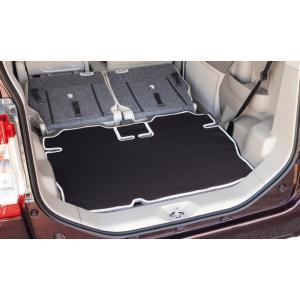[ボンフォーム]ラゲッジスペースの必需品/ウェットスーツ素材で防水![LA600S/LA610S]ダイハツ タント・タントカスタム専用『ネオラゲージマット』ブラック M4-40|bonsan