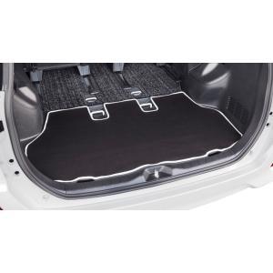 [ボンフォーム]ラゲッジスペースの必需品/ウェットスーツ素材で防水![ZRR80/ZRR85]トヨタ ノア・ヴォクシー専用『ネオラゲージマット』ブラック w8-41|bonsan