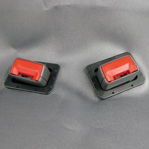 シートベルトホール 軽自動車用2個セット【後部座席シートベルト着用義務化対策品】 bonsan