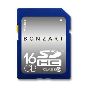 SDカード 16GB SDHC CLASS10 BONZART 永久保証付き