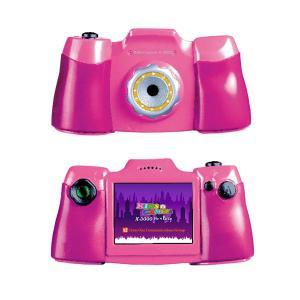 トイカメラ キッズカメラ KIDS CAMERA X-3000 ピンク クロスワン bonz