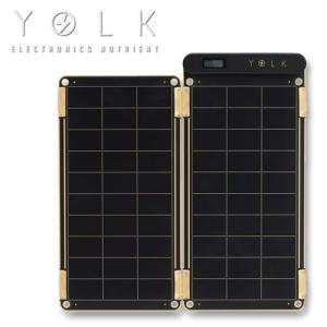 モバイルバッテリー ソーラーチャージャー YOLK ソーラー充電器 Solar Paper 5W ソーラーパネル 太陽光発電 バッテリー iPhone スマートフォン アウトドア|bonz