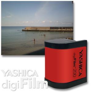 YASHICA digiFilm 200  ヤシカ デジフィルム 200