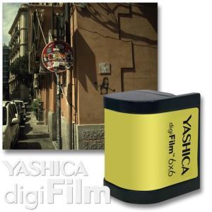YASHICA digiFilm 6×6  ヤシカ デジフィルム スクエア