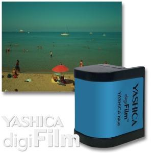 YASHICA digiFilm Premium  YASHICA blue  ヤシカ デジフィルム...