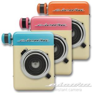 ESCURA instant 60s 手回しチェキカメラ FUJIFILM instax mini対応