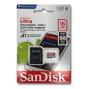 【送料無料/メール便】microSD 16GB SanDisk SDSQUAR-016G-GN6MA...