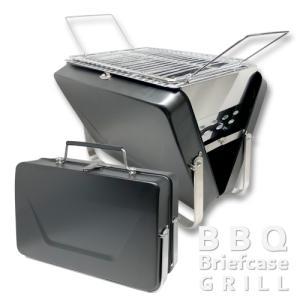 折り畳み式 バーベキューコンロ スーツケース型BBQグリル 小型 1〜3人向け 卓上可能