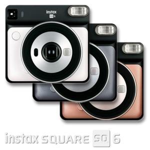 FUJIFILM instax SUQARE SQ6 チェキSQUARE用インスタントカメラ チェキSQUARE用フィルム10枚付き