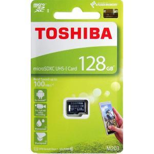 東芝 マイクロSDカード 128GB microSDXC クラス10 UHS-I THN-M203K...