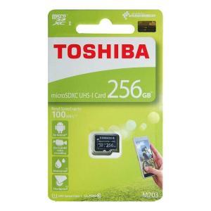 東芝 マイクロSDカード 256GB microSDXC クラス10 UHS-I THN-M203K...