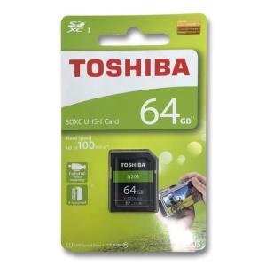 SDカード 64GB TOSHIBA 東芝 SDXC CLASS10 UHS-1  海外パッケージ