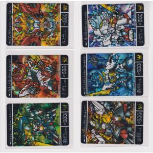 カードダス SDガンダム外伝 プレミアムコンプリートボックス 黄金神話 新規カード 超機甲神ガンジェネシス6枚セット|bonzintei