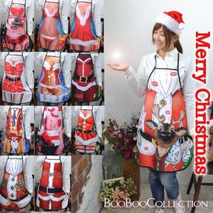 クリスマス サンタ Xmas衣装 コスプレ エプロン 前掛け