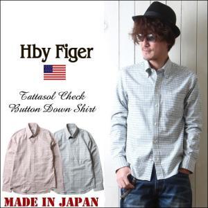 HbyFiger 日本製 6釦チェックBD ボタンダウンシャツ エイチバイフィガー メンズ アメカジ 送料無料|boogiestyle