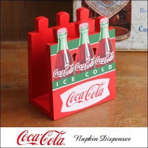 コカ・コーラ 組み立て式 ウッド・ペーパーナプキン・フォルダー