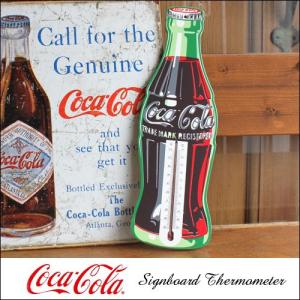 コカ・コーラ ボトルデザイン サーモメーター 温度計