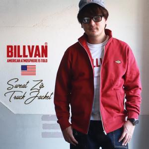 BILLVAN スウェット ZIP トラックジャケット ビルバン アメカジ|ブギースタイル