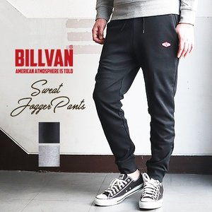 ジョガーパンツ BILLVAN ファインフィット スウェット ジョガーパンツ ビルバン メンズ アメカジ ブギースタイル