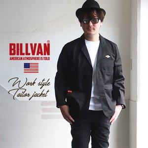 BILLVAN 高密度ツイル・ワークジャケット ビルバン アメカジ メンズ