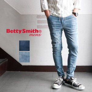 BettySmith ベティスミス ストレッチデニム イージーパンツ メンズ アメカジ 送料無料 boogiestyle