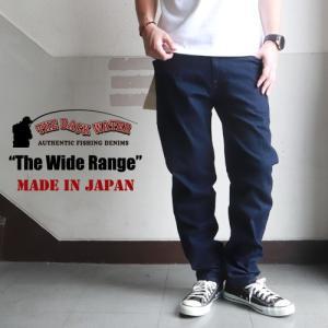THE BACK WATER 日本製 レギュラーストレッチフィッシングデニムパンツ The Wide Range 105vm メンズ アメカジ 送料無料 boogiestyle