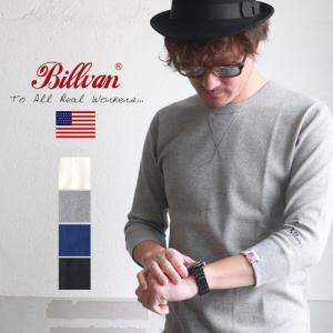 Tシャツ BILLVAN ワッフル フィットスタイル 7分袖Tシャツ アメカジ パックシリーズ メンズ アメカジ