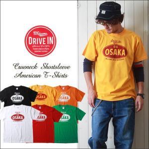 DRIVE IN OSAKA クルーネック・アメカジプリントTシャツ メンズ アメカジ|boogiestyle
