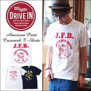 Tシャツ DRIVE IN J.F.B アメカジプリント Tシャツ|boogiestyle
