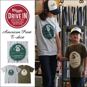 Tシャツ DRIVE IN Call Me アメカジプリント Tシャツ|boogiestyle
