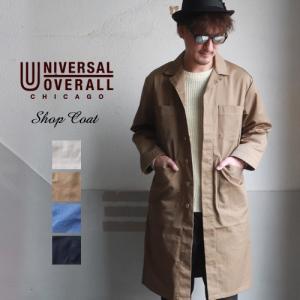 UNIVERSAL OVERALL ユニバーサルオーバーオール T/Cツイル ショップコート メンズ...