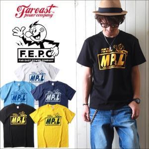 Tシャツ FAR EAST POWER COMPANY アメカジ MP&L プリントTシャツ FEPC0001 メンズ アメカジ|boogiestyle