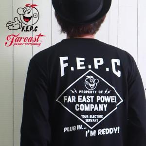 ロンT F.E.P.C バックダイヤプリント アメカジ ヘビーロングTシャツ FEPC0020 メンズ アメカジ 2018秋冬新作|boogiestyle