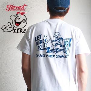 Tシャツ F.E.P.C LET REDDY アメカジ Tシャツ FEPC0021SS メンズ アメカジ|boogiestyle