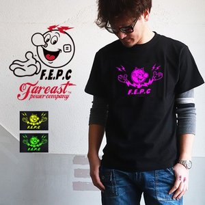 TシャツFEPC アメキャラ 蛍光色プリント Tシャツ FEPC メンズ アメカジ|boogiestyle
