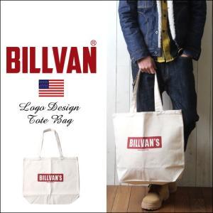 トートバッグ BILLVAN ナチュラル・キャンバス ファクトリーロゴ・トートバッグ|boogiestyle