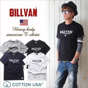 Tシャツ BILLVANアメリカンスタンダード トラロゴ プリントTシャツ 28131 メンズ アメカジ|ブギースタイル